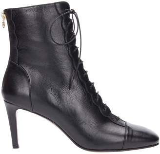 L'Autre Chose Leather Heeled Boots