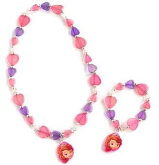 H.E.R. Accessories Disney Junior Sofia the First Necklace and Bracelet Set, 8 of eachpk
