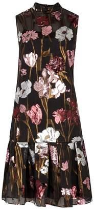 Erdem Neena Floral Silk