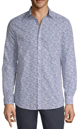 AXIST Axist Long Sleeve Floral Button-Front Shirt