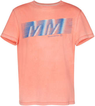 Maison Margiela Logo-Printed Cotton-Jersey T-shirt