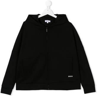 DKNY TEEN full-zip hoodie