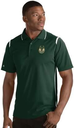 Antigua Men's Milwaukee Bucks Merit Polo