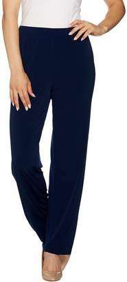Susan Graver Liquid Knit Pants with Grommets