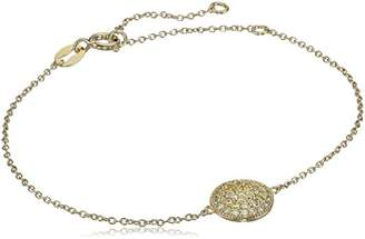 Myia Passiello Timeless Fancy Pave Circle Charm Bracelet