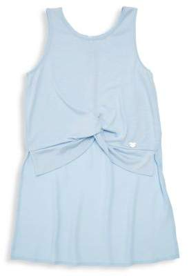 Bebe Girl's Georgette Knotted Top