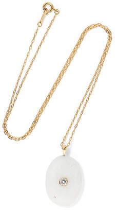 Cvc Stones Stratus 18-karat Gold, Stone And Diamond Necklace