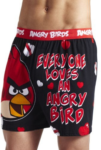 Briefly Stated Men's Everyone Loves An Angry Bird