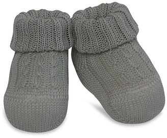 Ralph Lauren Childrenswear Cable-Knit Booties - Baby $30 thestylecure.com