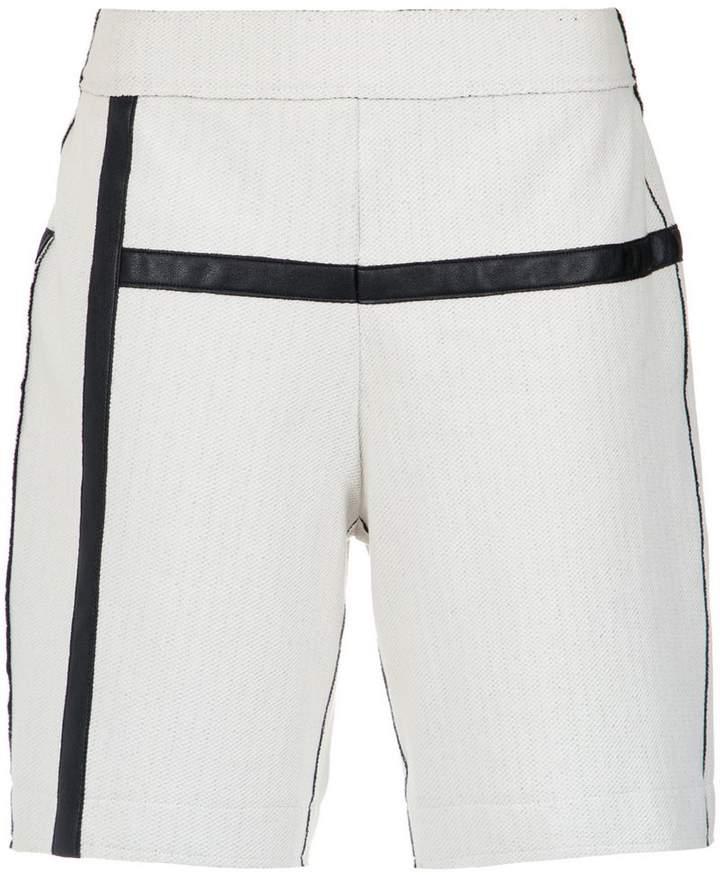 Mara Mac contrasting panels shorts