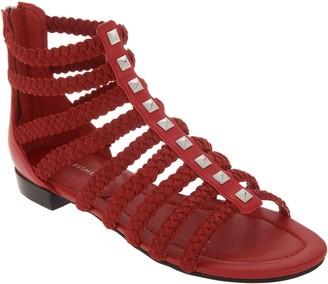 Marc Fisher Braid Detailed Gladiator Sandals - Pepita