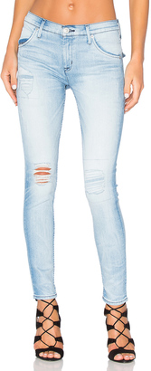Hudson Jeans Lilly Mid Rise Ankle Skinny $240 thestylecure.com