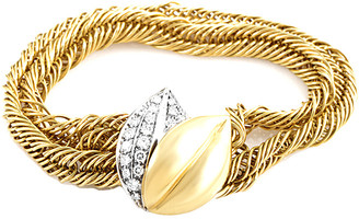 Pomellato 18K Two-Tone 1.40 Ct. Tw. Diamond Bracelet
