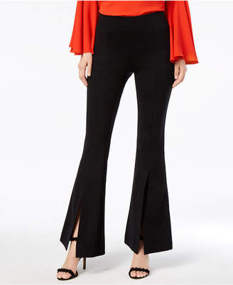 INC International Concepts I.n.c. Petite Split-Leg Flare Pants, Created for Macy's