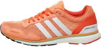 adidas Womens Adizero Adios Boost 3 Lightweight Neutral Running Shoes Easy Orange/White/Energy