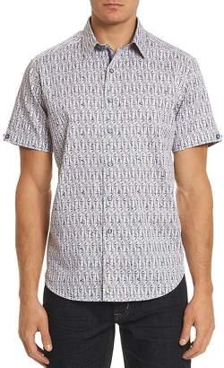 Robert Graham Cuban Tres Regular Fit Button-Down Shirt