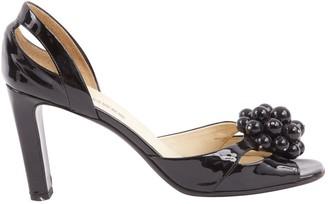 Jil Sander Patent leather sandal
