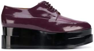 Clergerie Lucie platform lace-up shoe