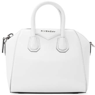 Givenchy (ジバンシイ) - Givenchy ホワイト ミニ アンティゴナ ダッフル バッグ