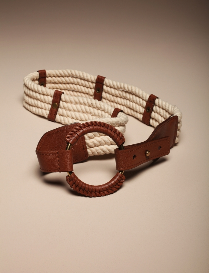 Rope Ring Closure Belt