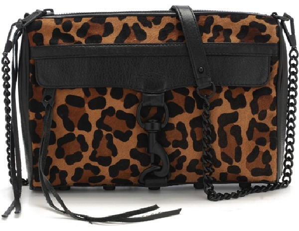 Rebecca Minkoff Oversize Cheetah Haircalf M.A.C.