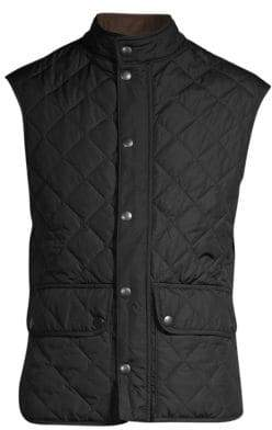 Barbour Lowerdale Diamond Quilted Vest