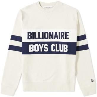 Billionaire Boys Club Varsity Cut & Sew Crew Sweat