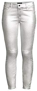 RtA Women's Prince Coated Skinny Jeans