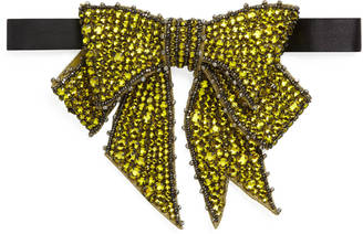 Crystal beaded neck bow $1,100 thestylecure.com
