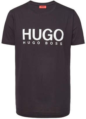 HUGO Dolive Printed Cotton T-Shirt