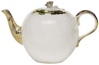 Herend Princess Victoria Green Teapot