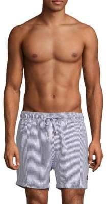 Hybrid Striped Swim Shorts