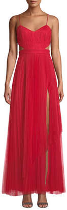 Fame & Partners The Dakota Cutout Tulle Dress