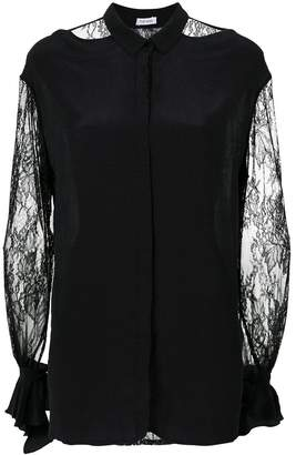 Tufi Duek lace cut out shirt