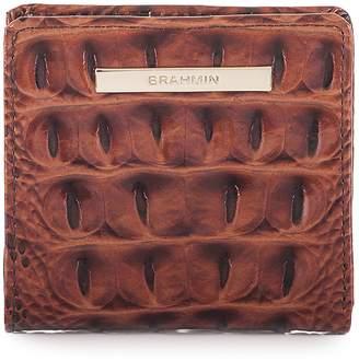 Brahmin Jane Croc Embossed Leather Wallet