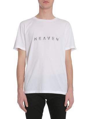 Saint Laurent Round Collar T-shirt