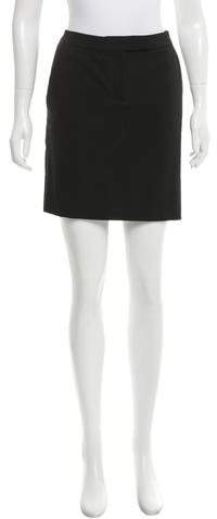 MICHAEL Michael Kors Michael Kors Collection Satin-Trimmed Mini Skirt