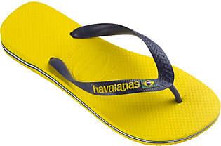 Havaianas Men's Flip Flop Sandals - Brazil Logo