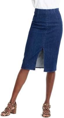J.Crew J. CREW Stretch Denim Pencil Skirt