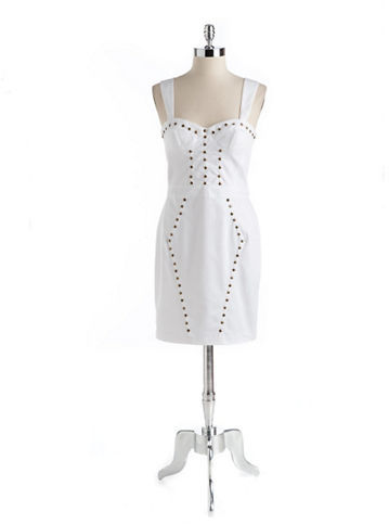 Betsey Johnson Studded Bodycon Dress