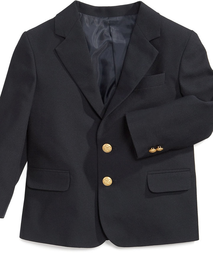 Izod Toddler Boys' Brass-Button Blazer