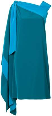 Gianluca Capannolo draped side dress