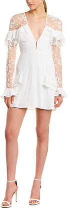 For Love & Lemons Rosebud Mini Dress
