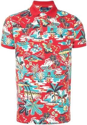 Polo Ralph Lauren hawaiian print polo shirt