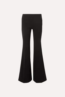 The Row Lanae Wool-blend Flared Pants - Black