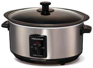 Morphy Richards Sear & Stew 3.5L Slow Cooker - Brushed 48701