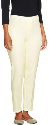 Isaac Mizrahi Live! Regular 24/7 Stretch Pull-On Ankle Pants