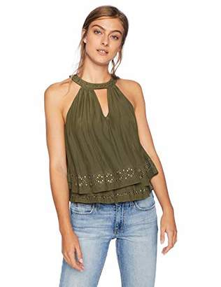 Ramy Brook Women's Connie Embellished Sleeveless TOP