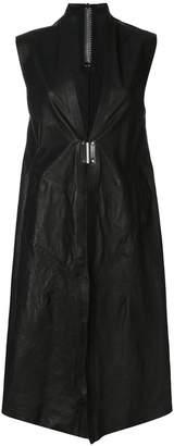 Isaac Sellam Experience sleeveless leather jacket