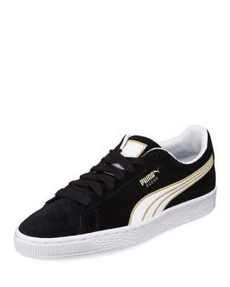Puma Varsity Suede Platform Sneakers